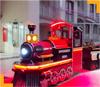 led lights trackless train